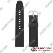 № 002 Каучуковый ремешок для Casio с тиснением полоски