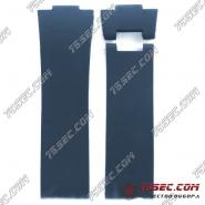 Синий каучуковый ремешок Ulysse Nardin без тиснения.
