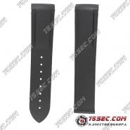 №01 Черный ремешок из каучука для Omega 980003 2