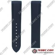 №01 Синий ремешок из каучука для Omega 980003 2