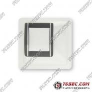 Минеральное стекло Rado 160.0486.3.016 черное с зеркальной полосой 23,5x28,5мм