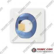Синее стекло для часов Rado ESENZA RD-P007 29,4мм