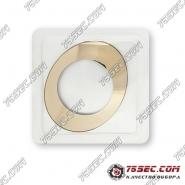 Стекла для часов Rado ESENZA 41,1x32,9мм «желтое золото»