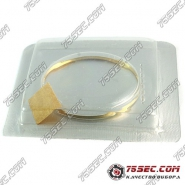 Plex стекло Omega 30.8мм «золотой ободок»