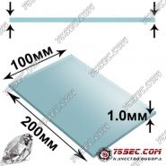 Минеральная заготовка 1.0мм (прямая) размер 100х200мм
