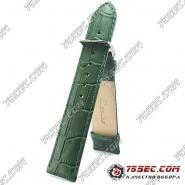 Зеленый ремешок из кожи, зауженный (HB1-21471)