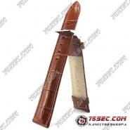 Кожаный ремешок коричневого цвета (HLV-91410XL)