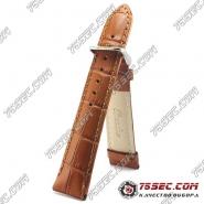 Коричневый классический ремешок из кожи (RB9-21413)