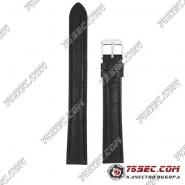 Длинный черный ремешок из кожи (RBV-21430-XXL)