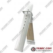 Белый ремешок с тиснением варана Bandco(VR-LP-03)
