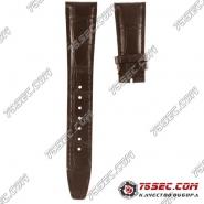 №002 ремешок IWC коричневый аллигатор