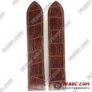 Ремешок Cartier KD95JK97 из кожи коричневый.