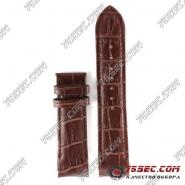 Кожаный ремешок Tissot коричневый.