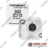 Батарейка Renata 362 \ SR 721 SW (10шт)