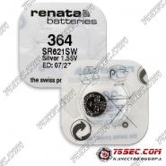 Батарейка Renata 364 \ SR 621 SW (10шт)