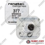 Батарейка Renata 377 \ SR 626 SW (10шт)