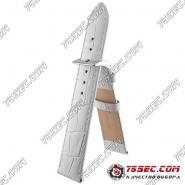 Кожаный ремешок белого цвета Bandco HB-21433-GL