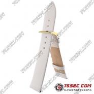Кожаный ремешок белого цвета Bandco USA-00933-GL