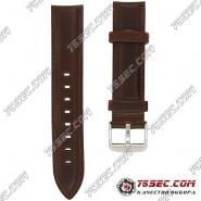 Ремешок коричневого цвета для часов Daniel Wellington
