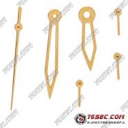 Стрелки для механизмов Miyota «желтое золото»