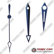 Стрелки голубого цвета для механизма ЭТА 2824.