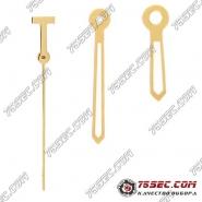 """Стрелки """"желтое золото"""" 2824 для Tissot 049"""