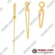 """Стрелки """"желтое золото"""" 2824 для Tissot 060"""