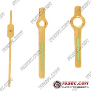 Стрелки для Orient \ Citizen \ Seiko желтое золото