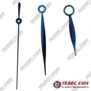 Синие стрелки 9х13х13,5мм для механизма ETA 2824