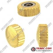 Головка для Tissot №065 «желтое золото»