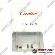 Винты для задних крышек часов Cartier 2,7х1,5мм
